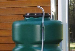 Regenton Garten 500L - 2000L aftap slang en niveau