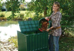 Compostvat Eco King 400 wordt zonder bedining geleverd