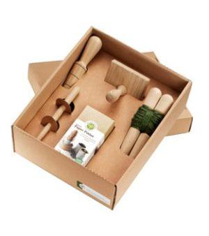 Oppot set FSC eiken in cadeau verpakking