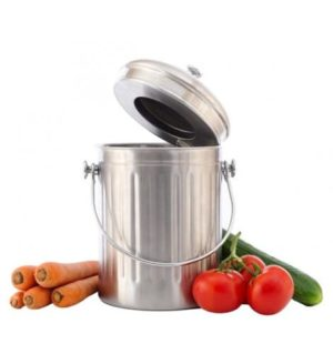 Compost Emmer Stainless Steel 5 L-0